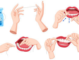 right way to floss